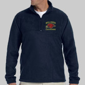 EMCL - M980 Harriton Quarter-Zip Fleece Pullover