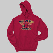 MCL - 996 Jerzees Adult 8oz. 50/50 Pullover Hooded Sweatshirt