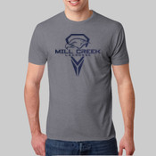 Flock - 6010 Next Level Men's Triblend Crew Tee