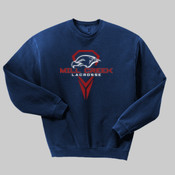 Logo - 562 Jerzees Adult 8oz. NuBlend® 50/50 Fleece Crew