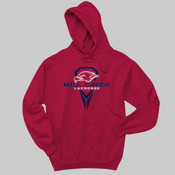 Logo - 996 Jerzees Adult 8oz. 50/50 Pullover Hooded Sweatshirt